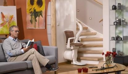 fauteuil monte escalier tendance
