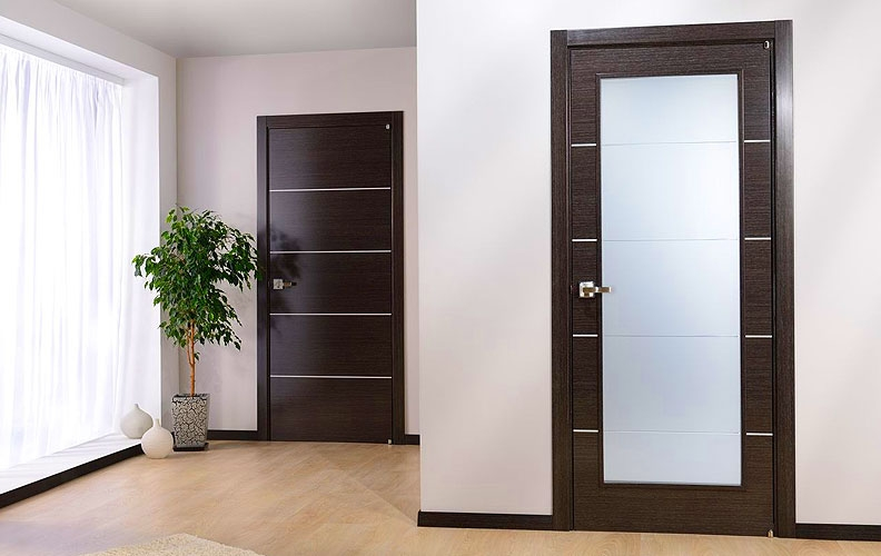 les diff rents types de portes int rieures. Black Bedroom Furniture Sets. Home Design Ideas